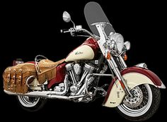 Chief Vintage Indian Motorcycle, based on the 1940 Chief. Beautiful!