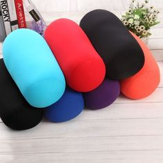 Roll Pillow Home Seat Head Rest Neck Support Travel Micro Mini Microbead Cushion Best Neck Pillow, Neck Roll Pillow, Neck Pillow Travel, Roll Neck, Travel Pillows, Back Support Pillow, Support Pillows, Kids Pillows, Throw Pillows