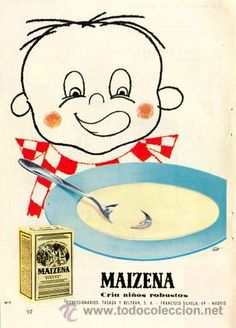 Página Publicidad Original *MAIZENA · TASADA Y BELTRAN, S.A.* - Año 1958 #learnspanish