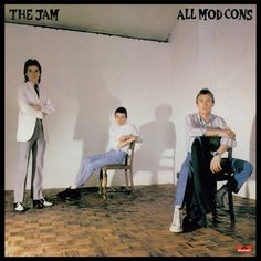 Vintage The JAM - All Mod Cons Vinyl Album - Vintage Vinyls from the Shiva, The Style Council, Uk Charts, Classic Album Covers, Paul Weller, The Kinks, Great Albums, Cd Cover, Cover Art