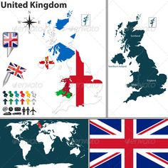 Vector Map Of Greater London In United Kingdom With Regions And - United kingdom map vector