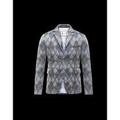 Moncler GAMME BLEU Lapel Collar Svart OverDunjakke Technical Fabric Herre  41466671TE 4556c60aa78