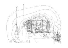 Zespół domów w układzie pasmowo-szeregowym. Projekt: Karolina Chodura, WA Politechniki Śląskiej House Architecture, Google, Design, Art, Home Architecture, Art Background, Kunst, Performing Arts