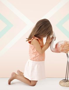 BLUNE KIDS PE15 - Belle plante Cute Young Girl, Girls Sandals, Stylish Baby, Pink Flamingos, Summer Girls, Kids Outfits, Kids Fashion, Belle Plante, White Dress