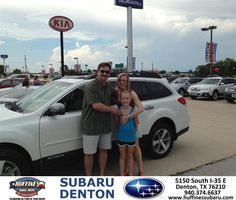 #HappyAnniversary to John Safranek on your 2014 #Subaru #Outback from Joey Sparlin at Huffines Subaru Denton!