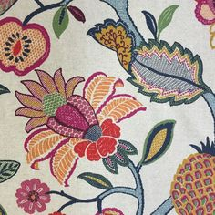 Love this fabric; was on the back of a World Market chair