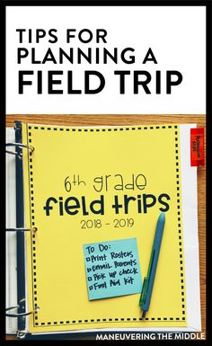 Planning for a field trip can be overwelming, but it doesn't have to be! Read on for tips to help plan, delegate, and execute a field trip for your class. 4th Grade Classroom, Middle School Classroom, Teaching Social Studies, Teaching Tips, Teaching Career, First Year Teachers, New Teachers, Teacher Organization, Teacher Tools