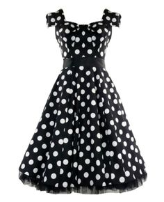 aa39cda13d 75 Best Polka Dot Dresses images in 2016 | Polka dot dresses, Retro ...