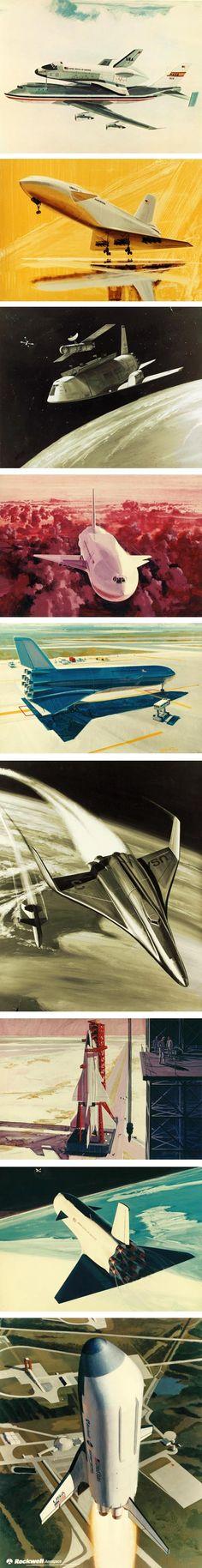 NASA Space Shuttle concept art