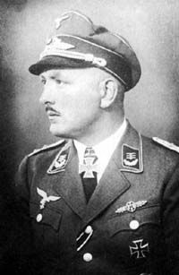 Hans von Hahn (7 August 1914 – 5 November 1957) was a German Luftwaffe ace and recipient of the Knight's Cross of the Iron Cross during World War II. During his career he was credited with 31 aerial victories, 12 on the Western Front and 19 on the Eastern Front. He flew with JG 53 and held command of I./JG 3,  II./JG 1, JG 103 and Jagdfliegerführer Oberitalien. Hahn fought during the Battle of France, the Battle of Britain, Operation Barbarossa and the Defense of the Reich.
