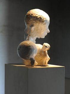 Johan Tahon, 'NY Lamb' ceramic 2010, Envoy Enterprises, New York.