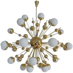 "Huge ""Sputnik"" Chandelier 