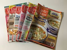 Taste Of Home Magazine 8 Back Issues Feb 2016 To May 2017 Cooking Baking  #tasteofhome #designsbym #ebay