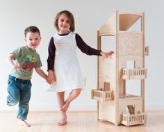 toiledoi wooden dollhouse