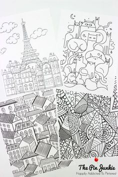 Free Printable Coloring Pages for Grown-Ups