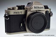 ** MINT ** NIKON FM2/T Titanium 35mm Film Camera Body  #Nikon