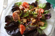 Le blog de Clementine: Salade au jambon de Parme et une vinaigrette à l'o...