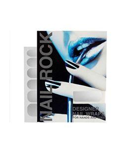 Nail+Rock+Metallic+Designer+Nail+Wraps