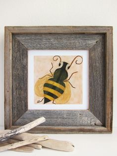 Queen Bee Nursery Art Print by pictureatale on Etsy, $14.99