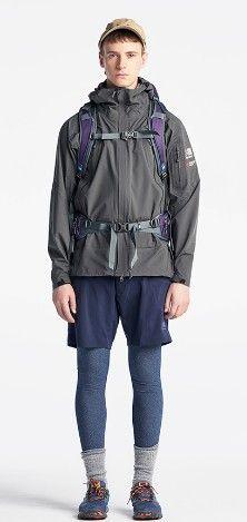 登山ファッション 夏 メンズ