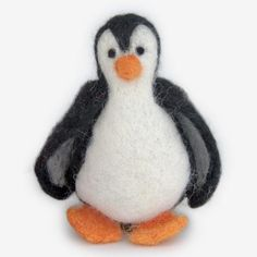 The Au Gres Sheep Factory: Needlefelt Ornaments: Penguin