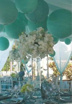 Aqua wedding!