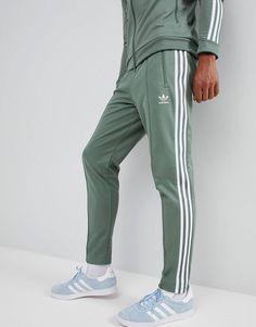 10a099d1 adidas Originals Beckenbauer Sweatpants In Green DH5818