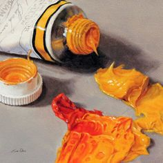 Lisa Ober Lisa Ober is a professional portrait artist specializing in oil and pastel portraits. She is mo. Still Life Drawing, Painting Still Life, Hyperrealism Paintings, Oil Paintings, Let's Make Art, Still Life Artists, Paint Tubes, Pastel Portraits, Still Life Photos