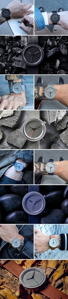 With a bezel and dial made from actual concrete, the Masonic watch is probably the most beautiful and unforgettable watch I've seen in a while, as it pays tribute to the Freemasons, one of early society's first architects. Buy now!