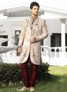 Bollywood Mens Wedding Readymade Indian Ethnic Dress Sherwani Indostyle Designer #tanishifashion