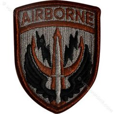 Special Forces Command Patch | Army U.S. Army Element Special Operations Command Central ACU Patch