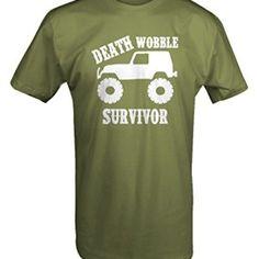 Jeep Wrangler Death Wobble Survivor T shirt