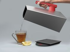 Stripped-Down Kettle Designs - This Minimalist Aluminum Kettle is More Efficient and Eco-Friendly (GALLERY)