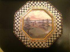 Mackenzie Childs MacLachlan Dinner Plates | eBay