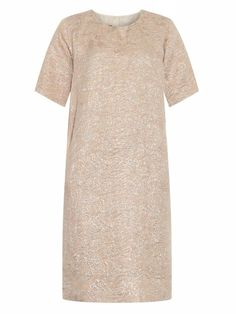Rochas Silk-blend brocade dress