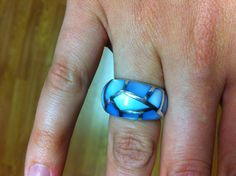 Ring is from a store in Lahaina, Hawaii