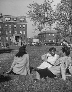 Students @ Howard University, 1946 african american/black women