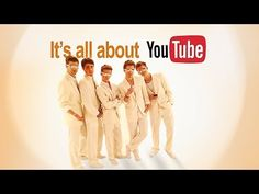 The YouTube Boy Band - it's all about you(tube)! I have had this stuck in my head all day!! I LOVE IT!!