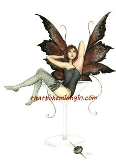Amy Brown Glamour Fairy Postcard