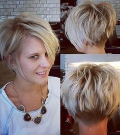 short hairstyles for round faces | Fashion Grapher
