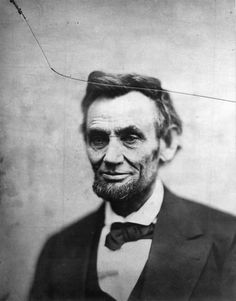 This is the 'shot' of Abe that people say is weird because thats the path the bullet took...