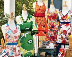 http://www.surlatable.com/category/cat450739/  Sur La Table Vintage Aprons