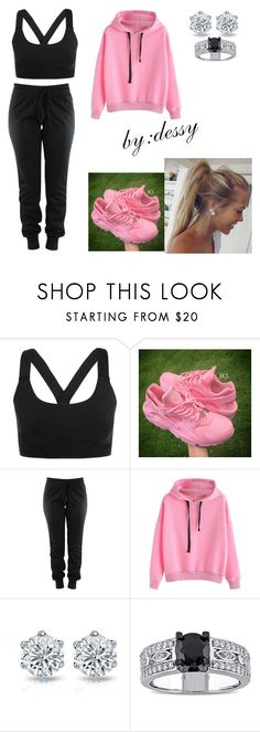 """""""Untitled #399"""" by dessy1112 ❤ liked on Polyvore featuring Ivy Park and Miadora"""