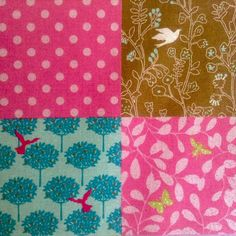 Fun bright & bubbly #Echino #Japanese #craft #quilting #fabrics now available…