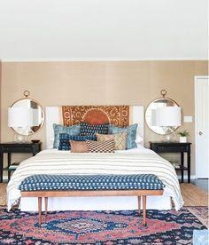 How to convert your room in Bohemian bedroom