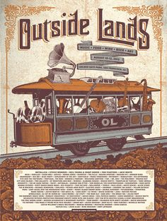 GigPosters.com - Beck - Metallica - Jack White - Stevie Wonder - Foo Fighters - Neil Young & Crazy Horse - Skrillex - Sigur Ros - Justice - Norah Jones - Dispatch - Kills, The - Andrew Bird