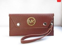 6e2512ac41b8 Michael Kors Handbags Discount, Michael Kors Wallet, Cheap Michael Kors, Mk  Wallet, Circle Logos, Discount Sites, Buy Cheap, Card Case, Continental  Wallet