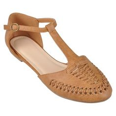 Women's Journee Collection T-strap Flats- Assorted Colors