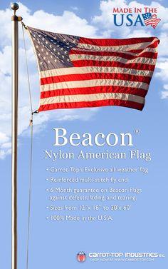 deef15fb0de Beacon® Nylon US Flags – Durable