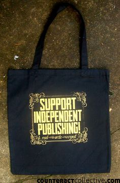 Support Independent Publishing book bag $12 Pioneers Press